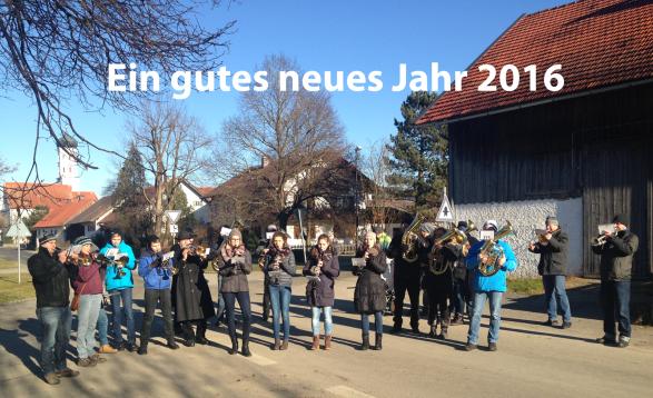 Neujahranspielen 2016 Blaskapelle Raisting
