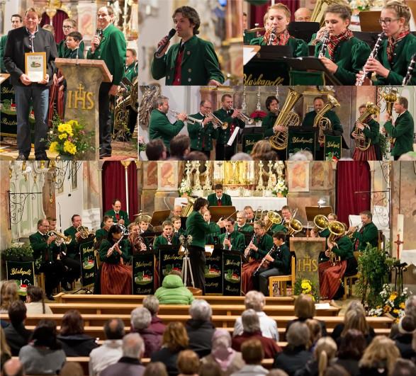 kirchenkonzert Blaskapelle Raisting 2015
