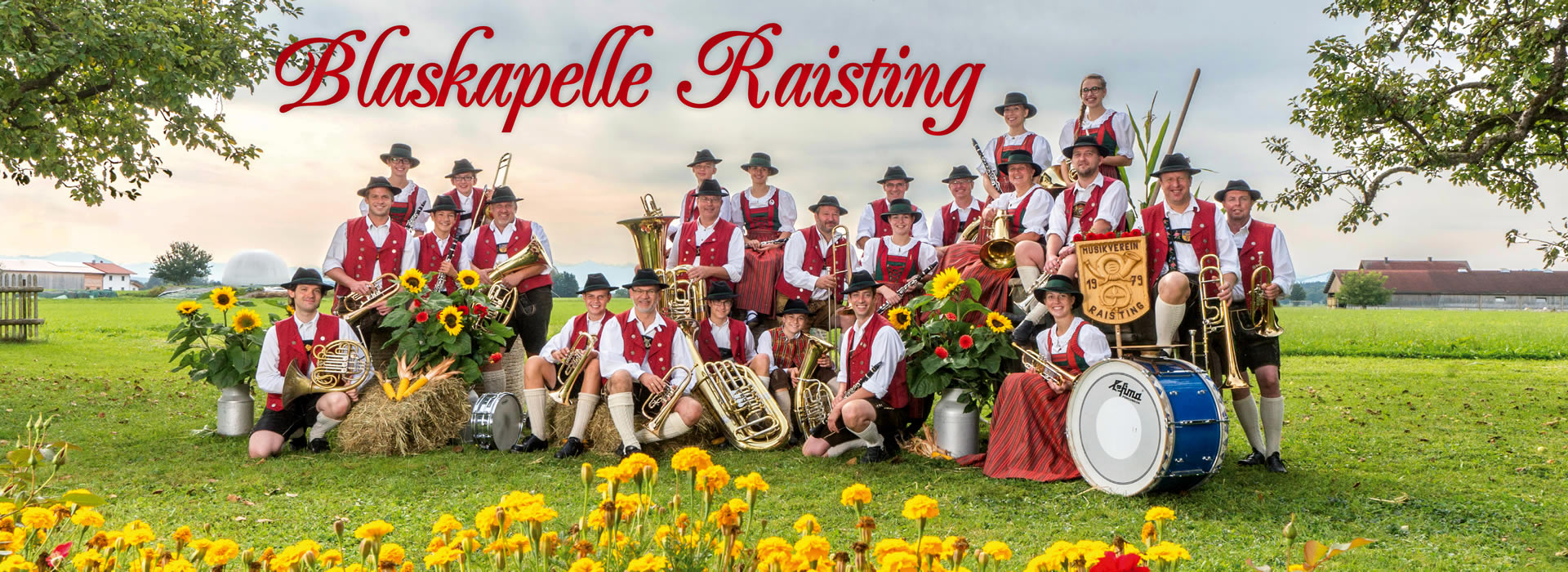 Blaskapelle Raisting Gruppenbild 2014