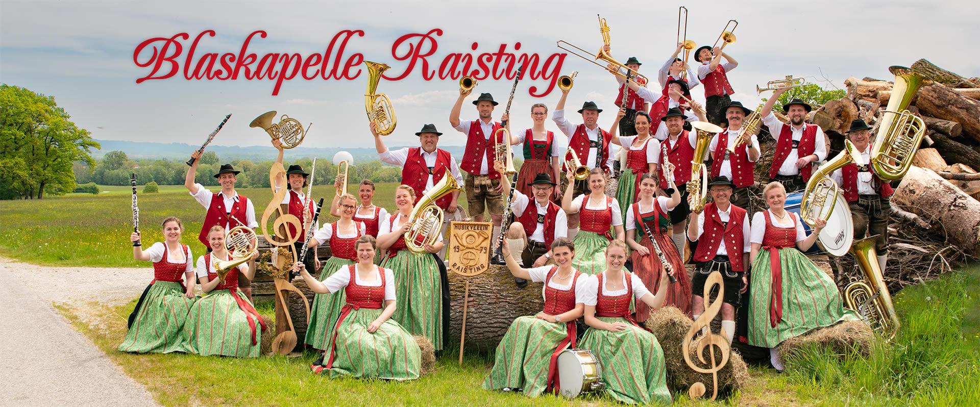 Blaskapelle Raisting Gruppenbild