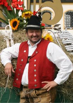 Arthur Lehmann, Instrumentallehrer, Dirigent der Blaskapelle Raisting