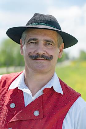 Musiker der Blaskaplle Raisting: Bernhard