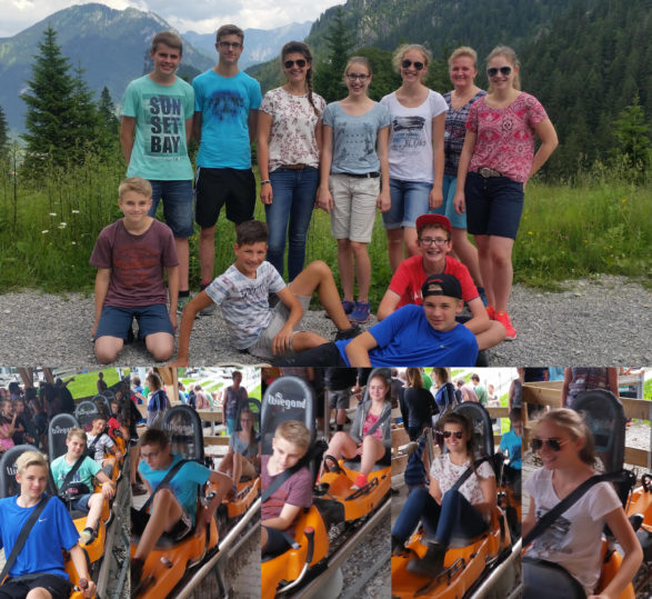 Jugendausflug Blaskapelle Raisting Juli 2016