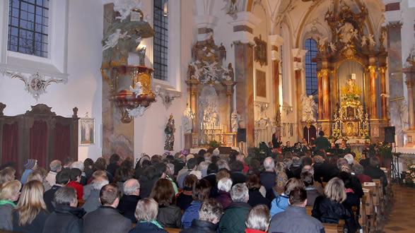 kirchenkonzert 2013 Blaskapelle Raisting
